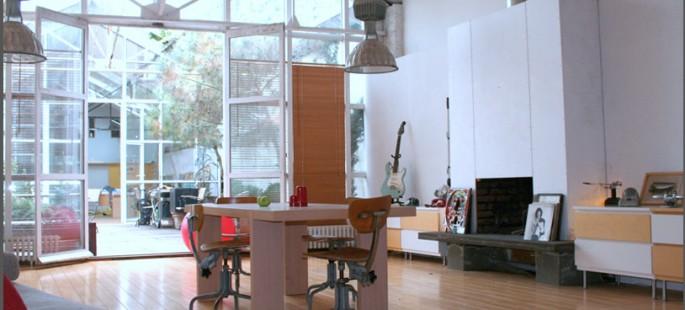 le loft du chai. Black Bedroom Furniture Sets. Home Design Ideas